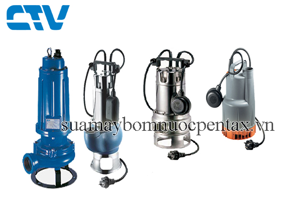 Sửa máy bơm nước thải pentax