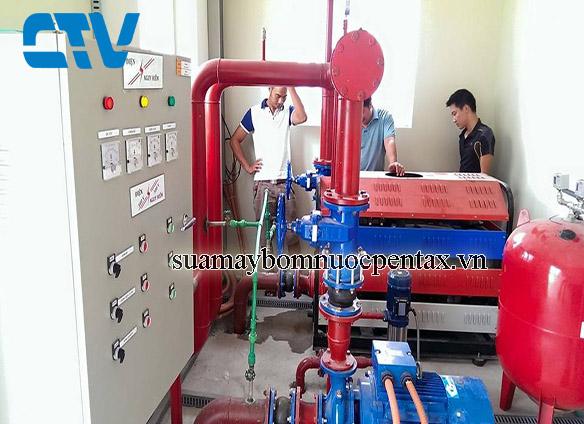 Sửa hệ thống máy bơm nước