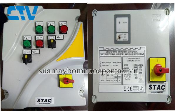 Tủ điện chính hãng Stac Italy bảo vệ máy bơm