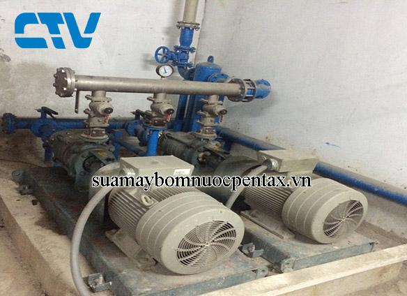 Lắp đặt hệ thống máy bơm cấp nước sinh hoạt cho các tòa nhà cao tầng tại Hà Nội