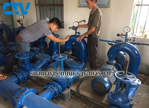 Sửa hệ thống máy bơm cấp nước sinh hoạt