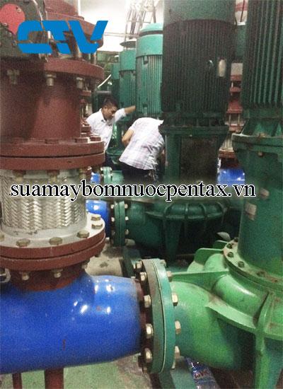 Bảo dưỡng, sửa chữa hệ thống máy bơm giải nhiệt Chiller