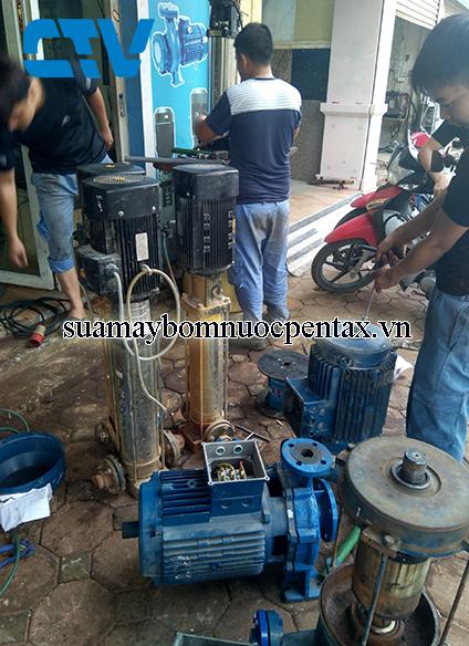 Mách bạn trung tâm sữa chữa máy bơm trục ngang pentax giá tốt nhất tại Hà Nội