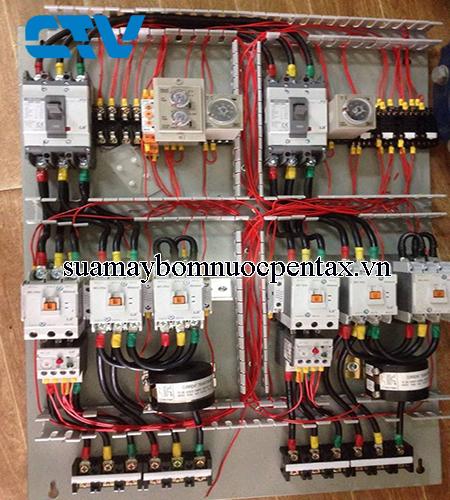 Thiết kế tủ điện hệ thống máy bơm nước tòa nhà, chung cư