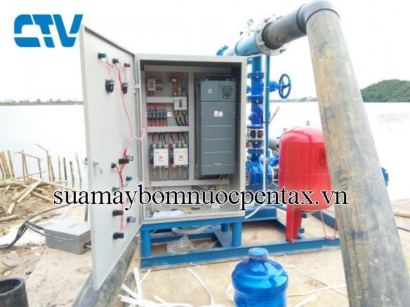 Thiết kế tủ điện cho hệ thống máy bơm tăng áp