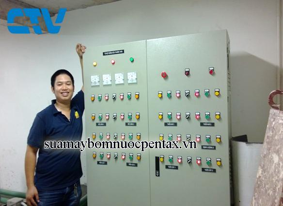 Tủ điện điều khiển hệ thống xử lý nước thải